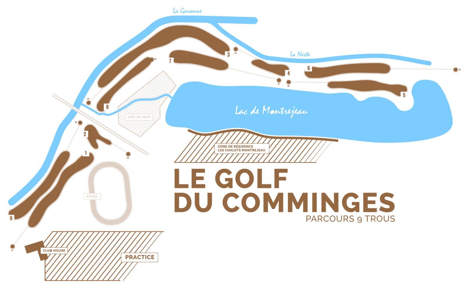 Activités Chalet Montrejeau : le Golf